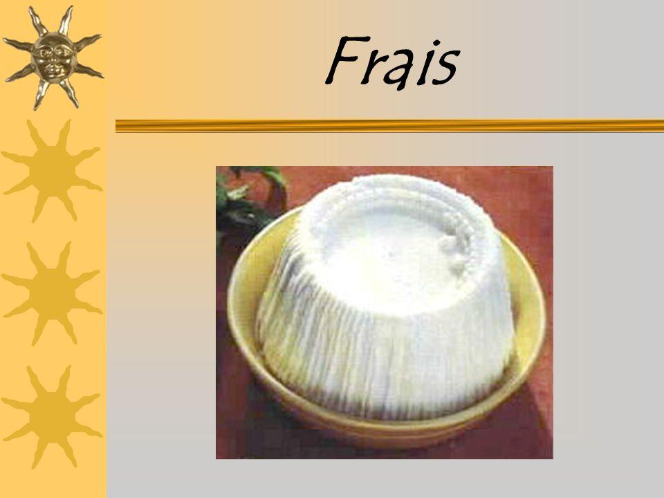 Définition Fromage de lactosérum frais de chèvre ou de brebis Il peut être :