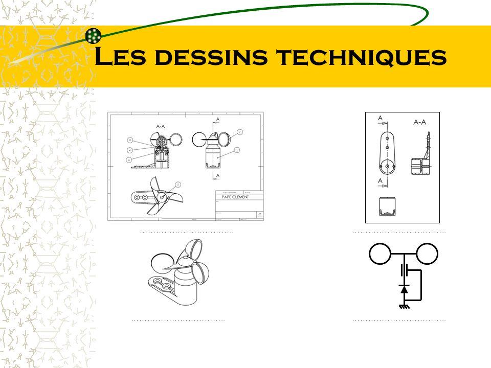 Les dessins techniques ……………………………..