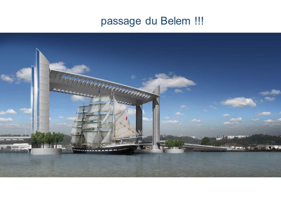 passage du Belem !!!