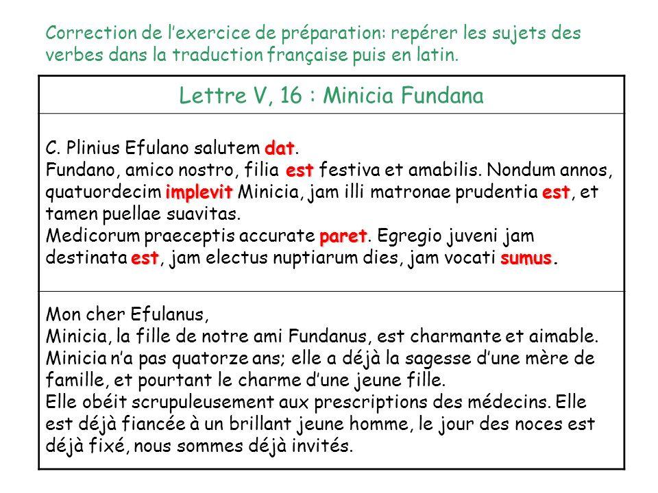 Caput VI Dominante de langue: Comment exprime-t-on la fonction sujet en latin. Objectif: connaître le nominatif de la première et deuxième déclinaison