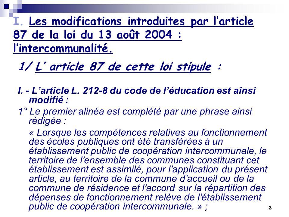 4 II.- Après larticle L. 442-13 du même code, il est inséré un article L.