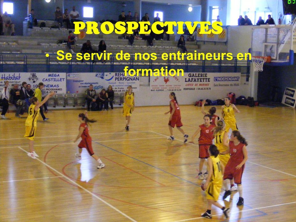 PROSPECTIVES Se servir de nos entraineurs en formation