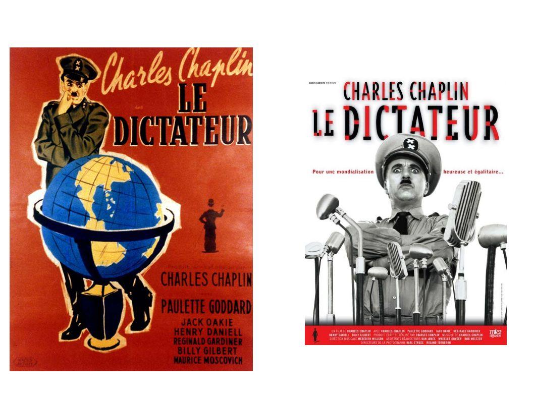 Comment Charlie Chaplin, artiste cinéaste, est-il témoin de son temps, en 1938-1940 et s engage-t-il contre Hitler.