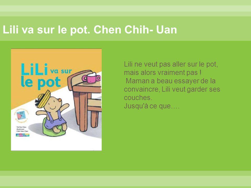 Un livre qui aborde le thème, de l utilisation du pot avec légèreté, entrain et subtilité.