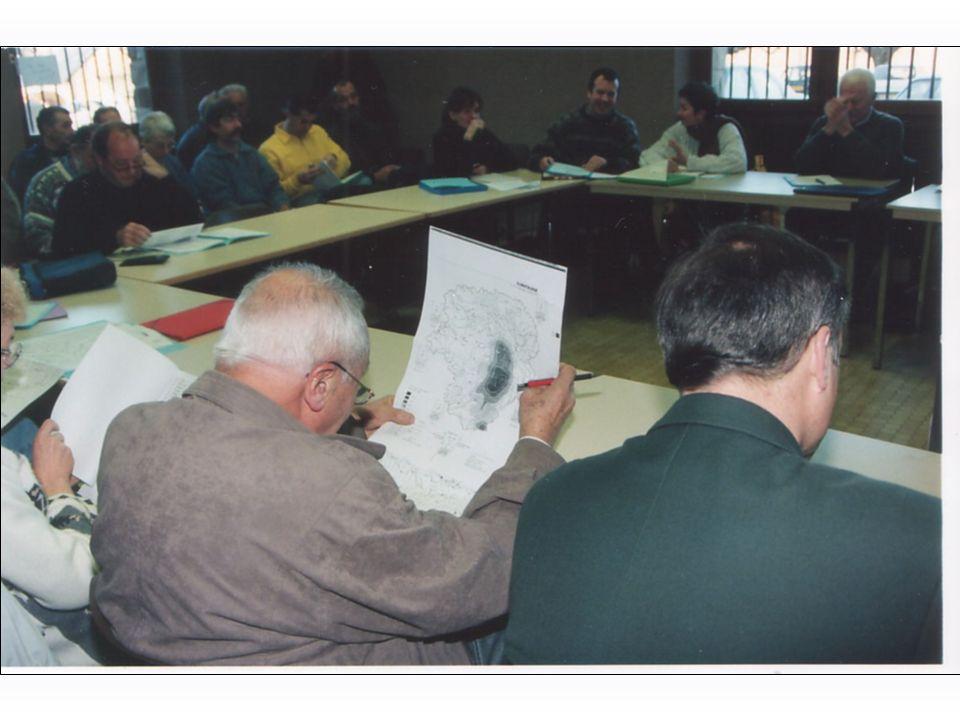Un comité de pilotage local (élus, socio- économiques, associatifs, assisté dun animateur et dexperts thématiques) prépare : 1.un Diagnostic Participatif Local (tableau.