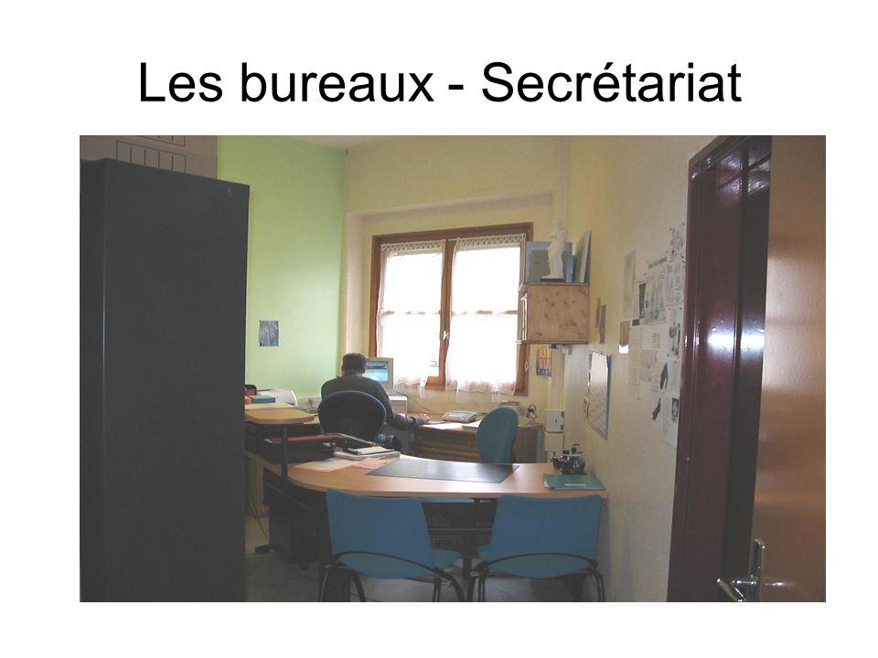 Les bureaux - Secrétariat