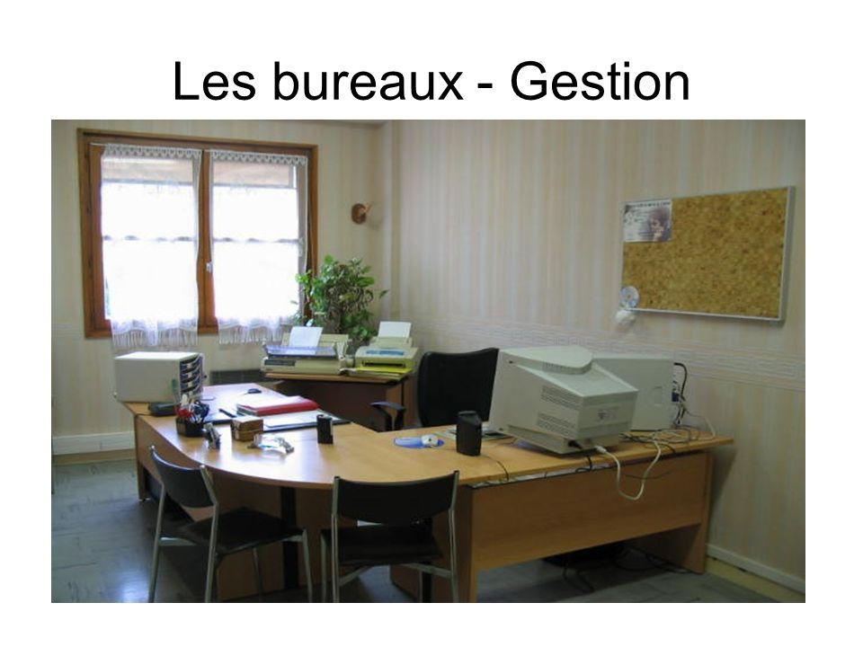 Les bureaux - Gestion