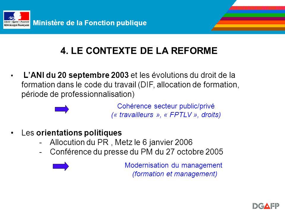 Ministère de la Fonction publique 4.