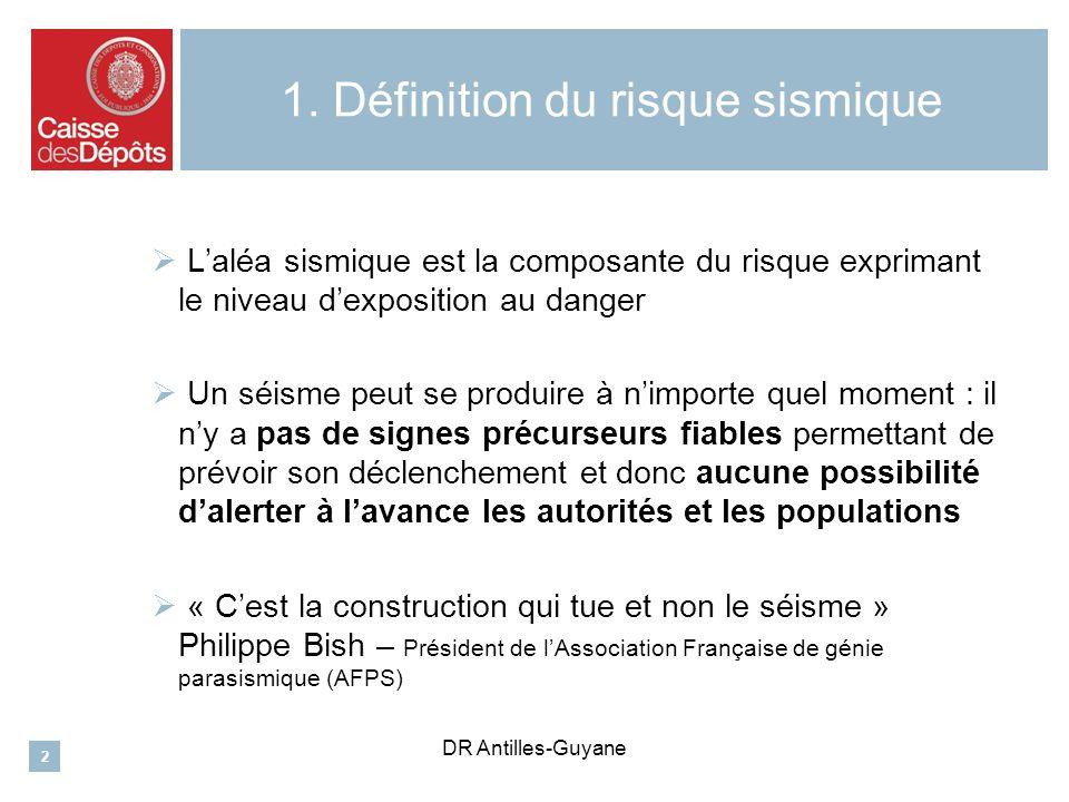 DR Antilles-Guyane 2.Quelles réglementations applicables .