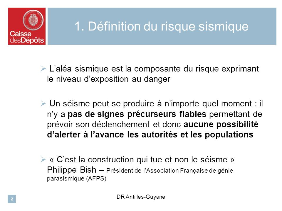 DR Antilles-Guyane 5.