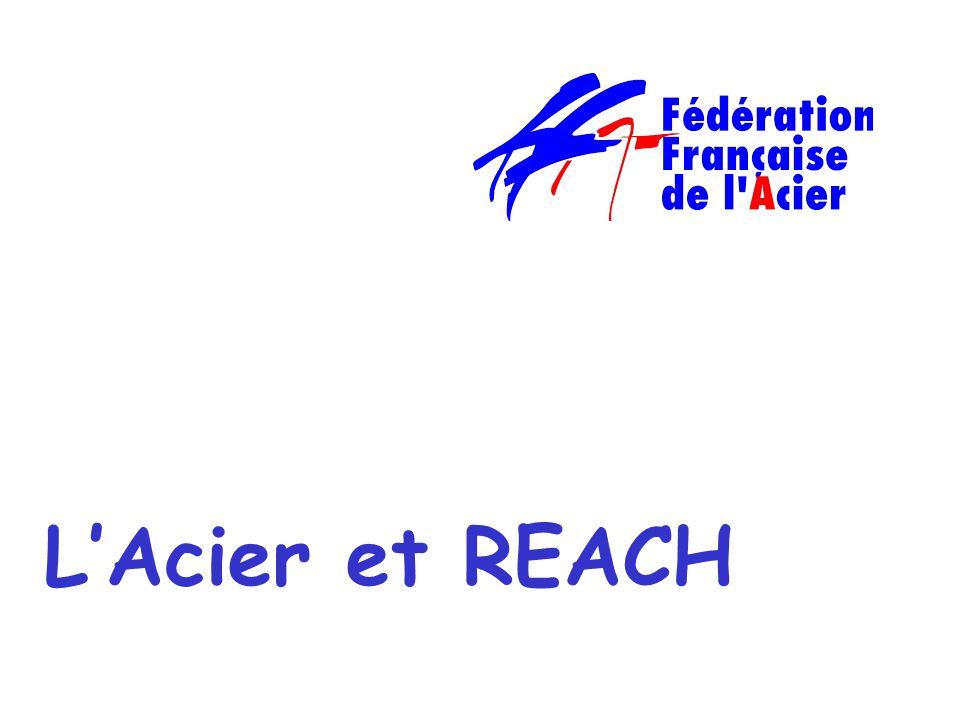 Michel QUATREVALET - ENVIRONNEMENT/GESIM du 9 octobre 2008 LAcier et REACH