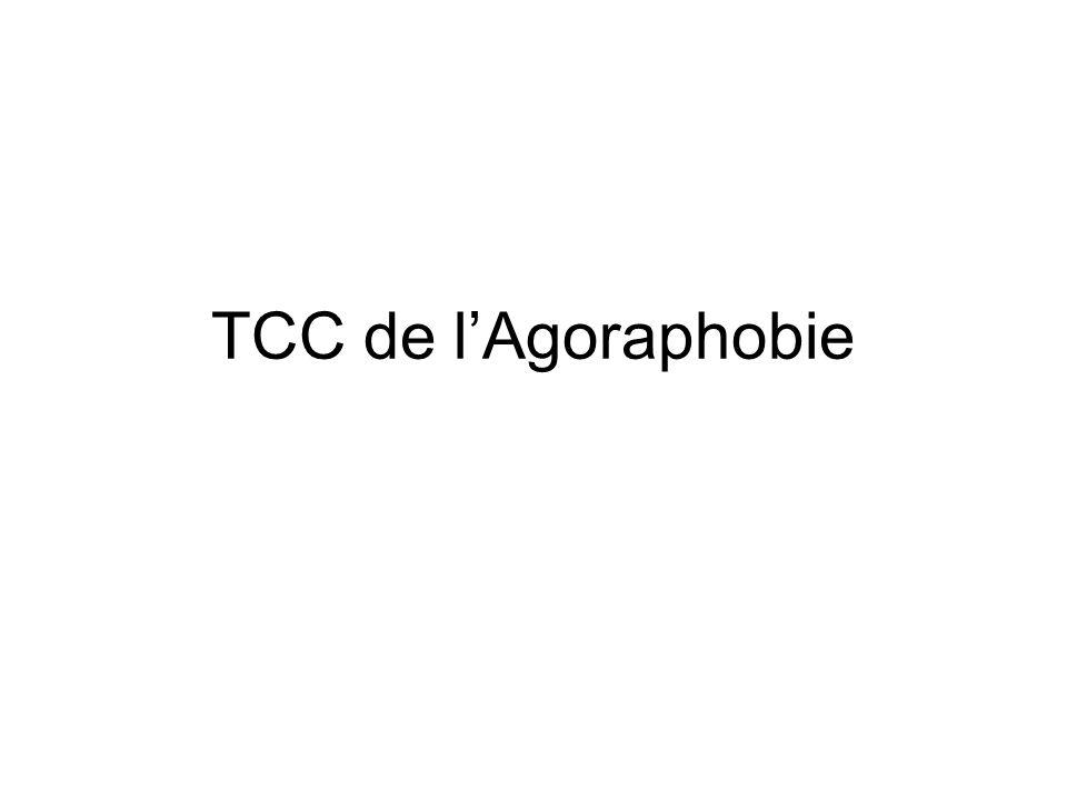TCC de lAgoraphobie