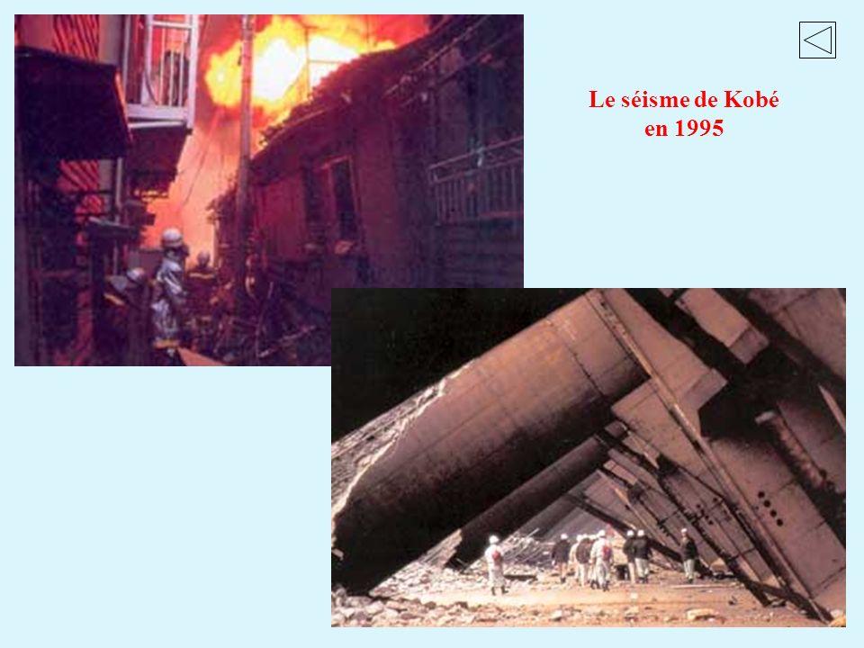 Le séisme de Kobé en 1995