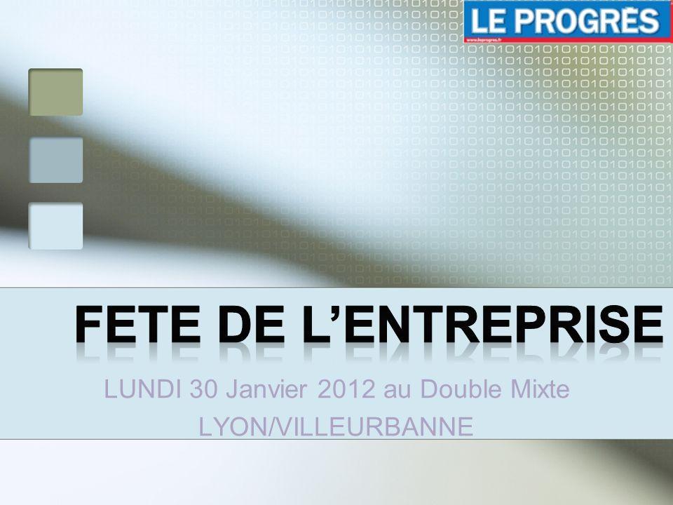 LUNDI 30 Janvier 2012 au Double Mixte LYON/VILLEURBANNE