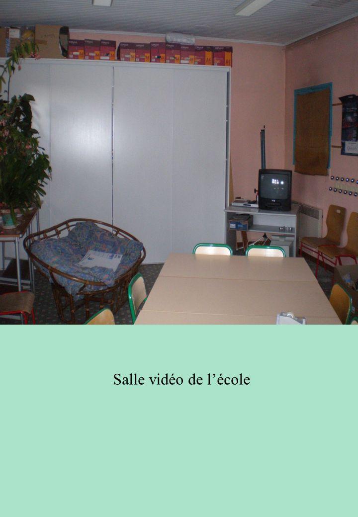 Salle vidéo de lécole