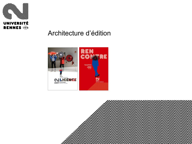 Architecture dédition