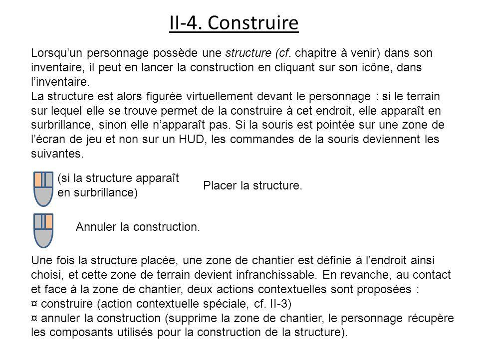 II-4. Construire Lorsquun personnage possède une structure (cf.