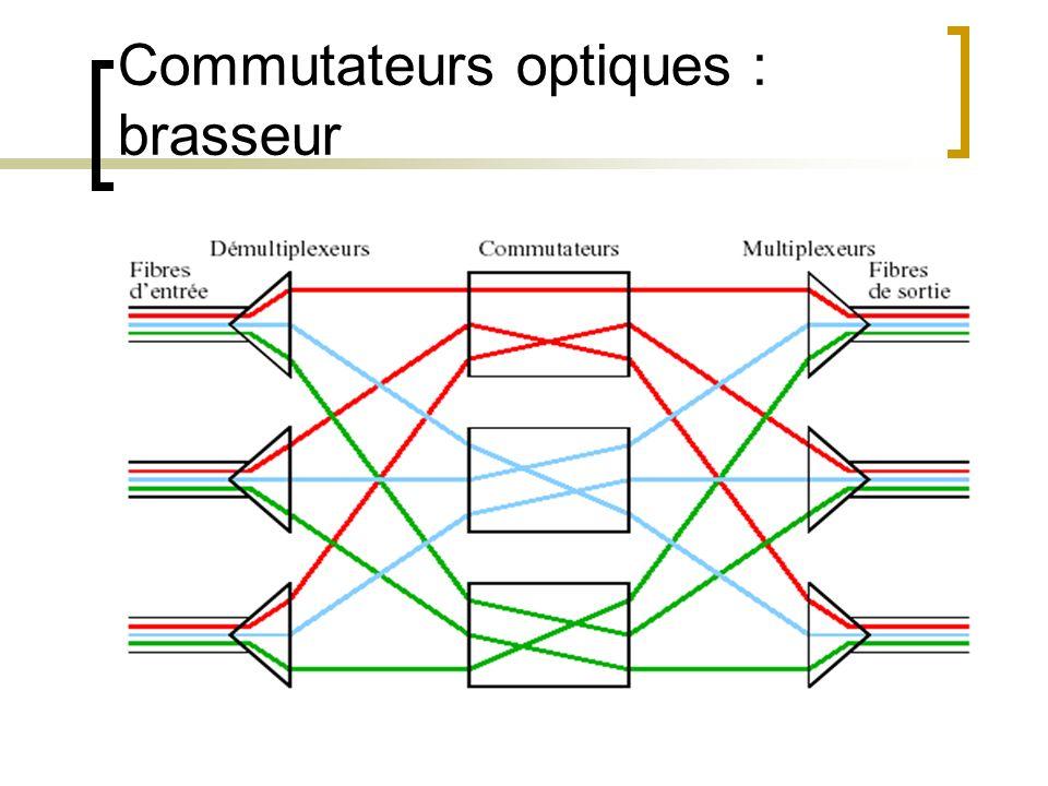 Commutateurs optiques : brasseur
