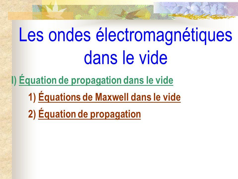 Notation complexe E (M,t) = E 0x.cos( t – k.r + 0x ).