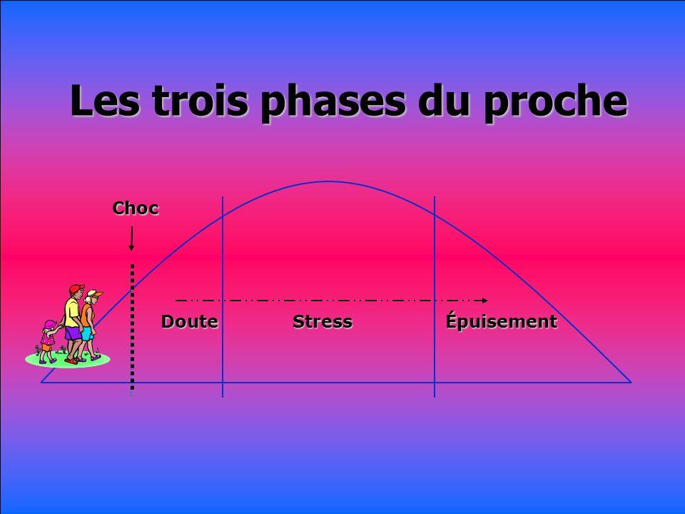 www.ulaval.ca 12 Doute Stress StressÉpuisement Choc Les trois phases du proche