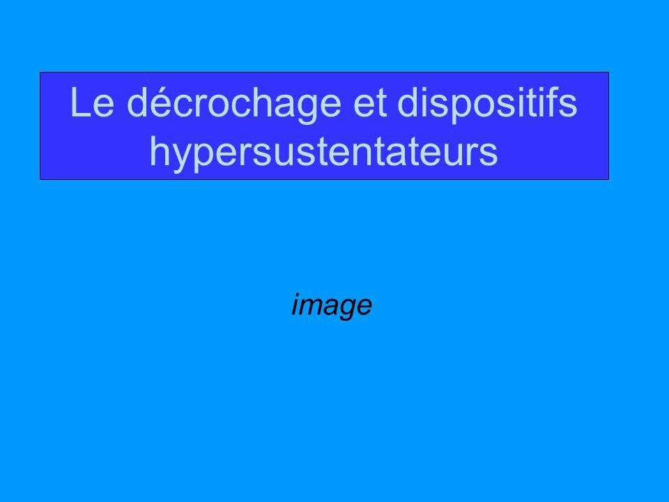 Le décrochage et dispositifs hypersustentateurs image