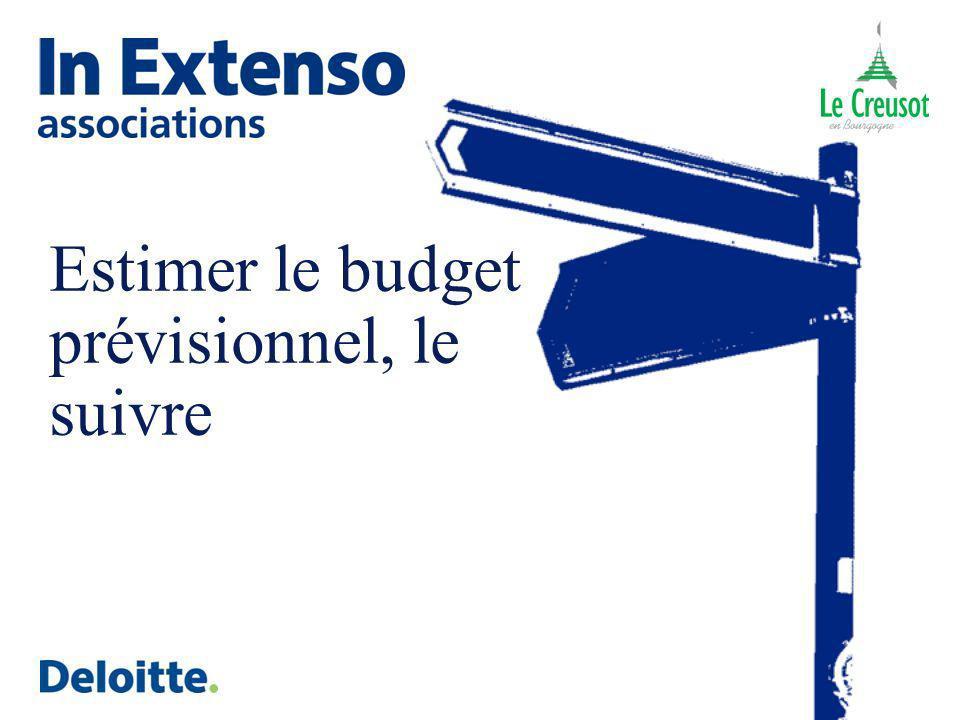 Estimer le budget prévisionnel, le suivre