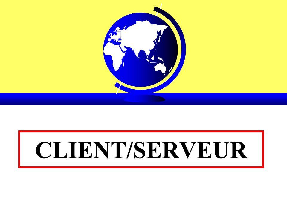 Client/Serveur de Traitements (Type 3) –Les données restent centralisées mais les traitements sont répartis entre le client et le serveur (cf.