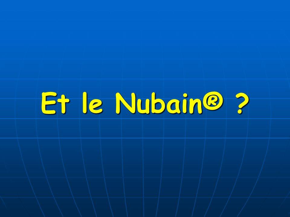Et le Nubain® ?