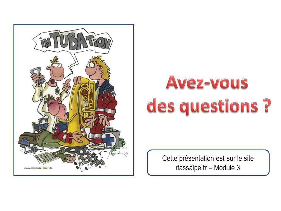 Cette présentation est sur le site ifassalpe.fr – Module 3