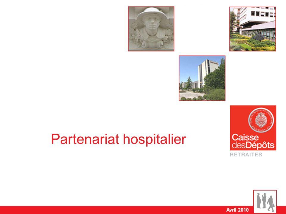 Avril 2010 Partenariat hospitalier
