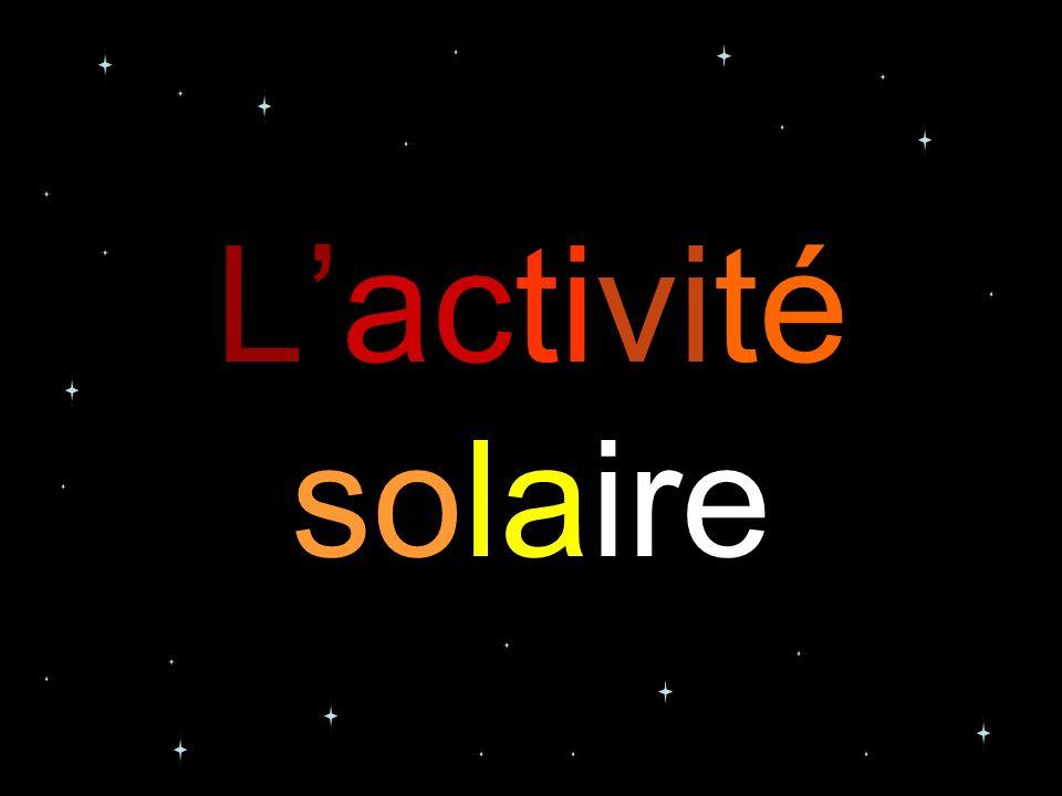 Lactivité solaire