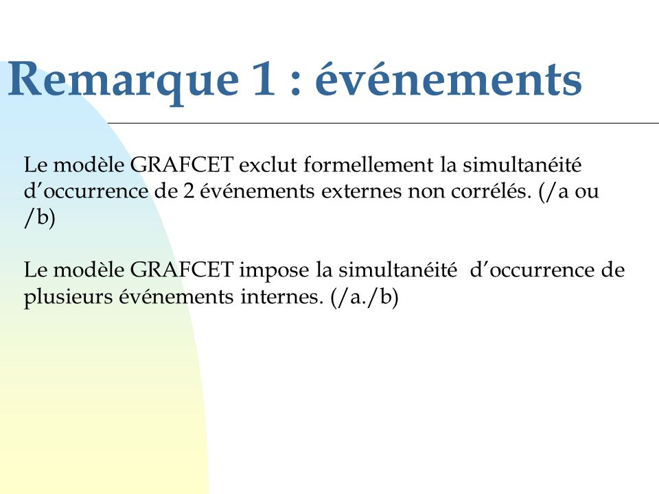 Programmation dun GRAFCET dans un API (traduction en LADDER)