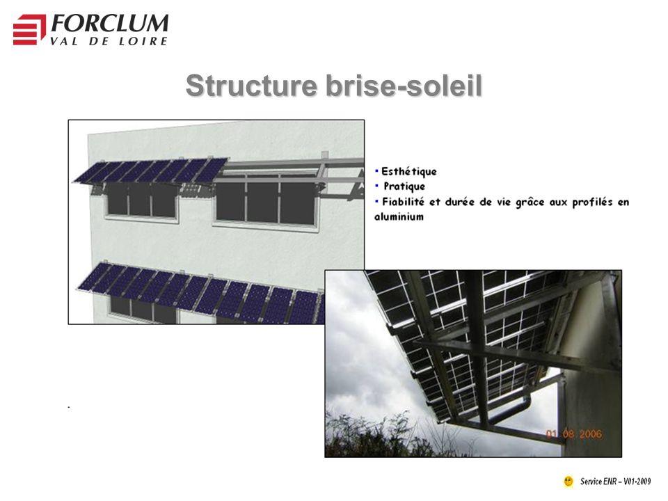 Structure brise-soleil