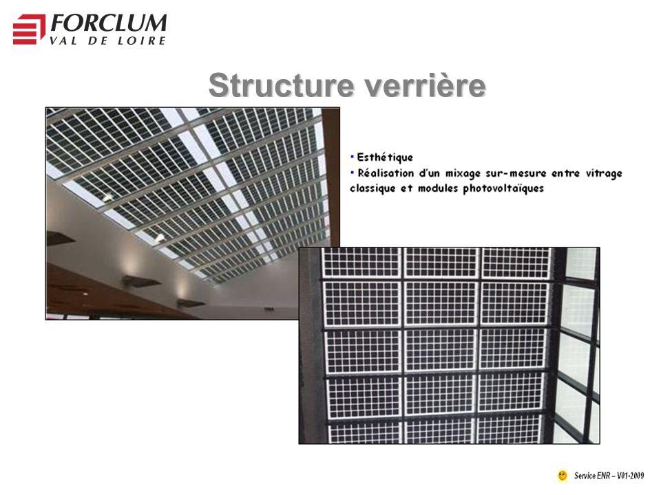 Structure verrière
