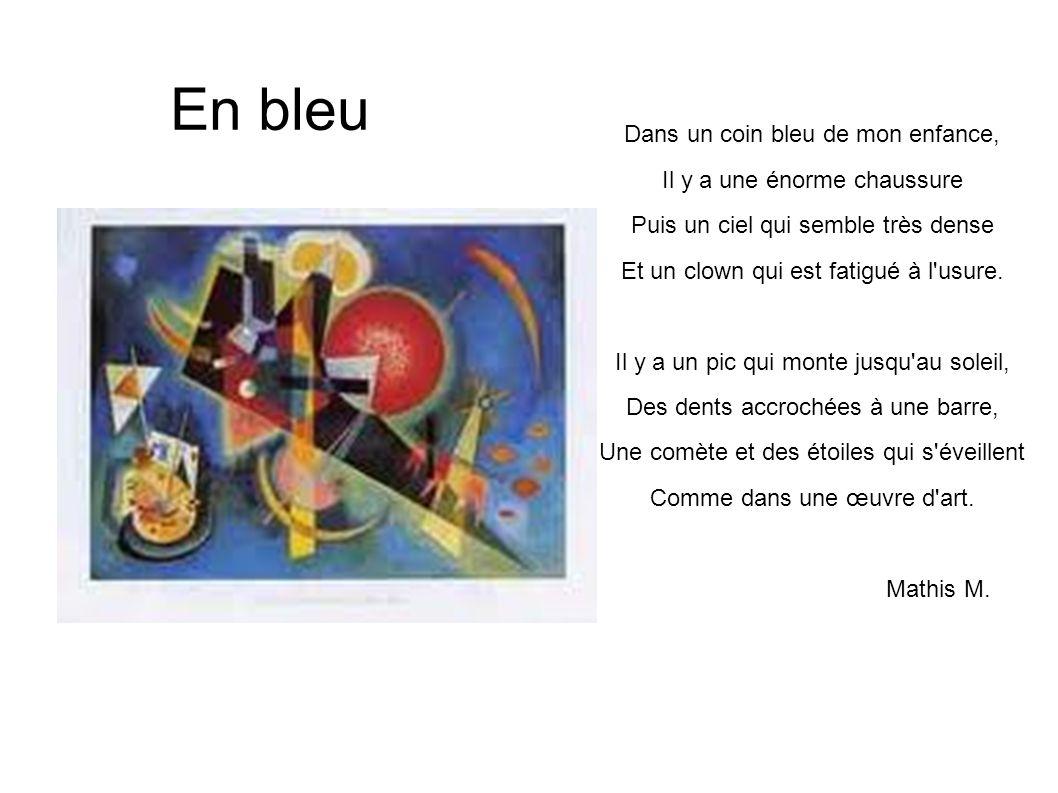Intérieur rouge Dans un coin de mon enfance, J étais en Provence Le soleil brillait, Les cigales chantaient.