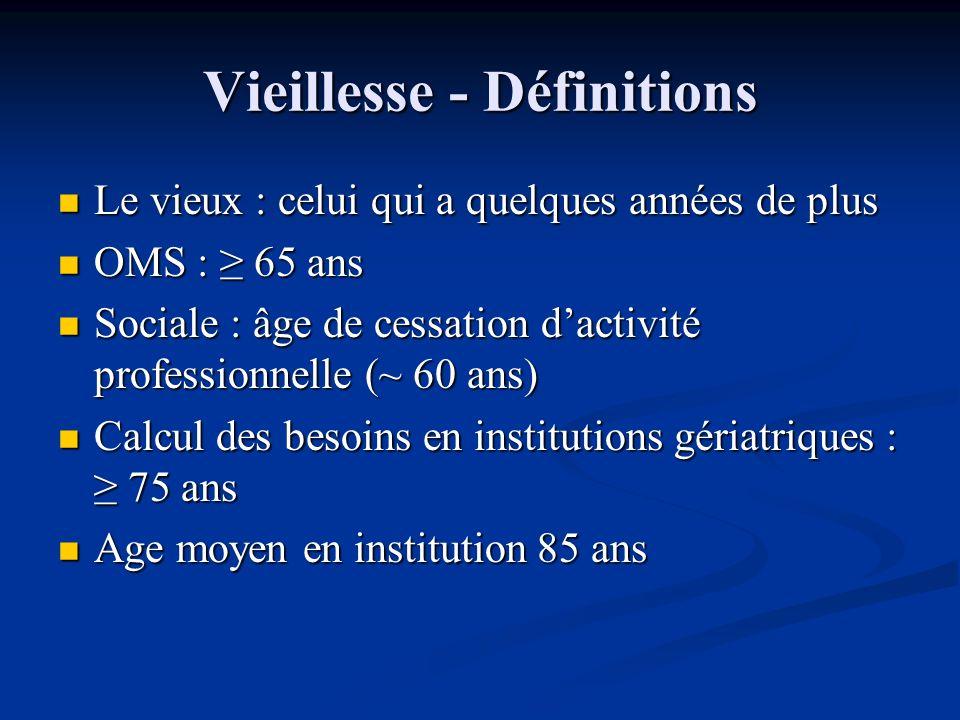 Vieillissement de la population en France