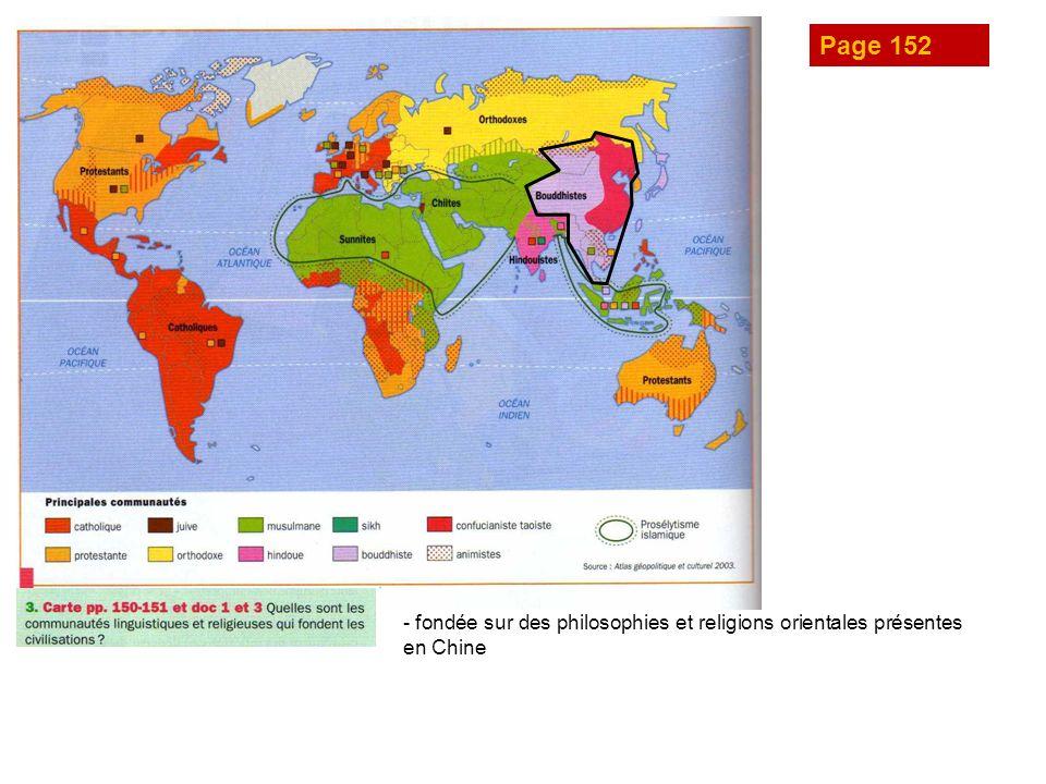Page 152 - fondée sur des philosophies et religions orientales présentes en Chine