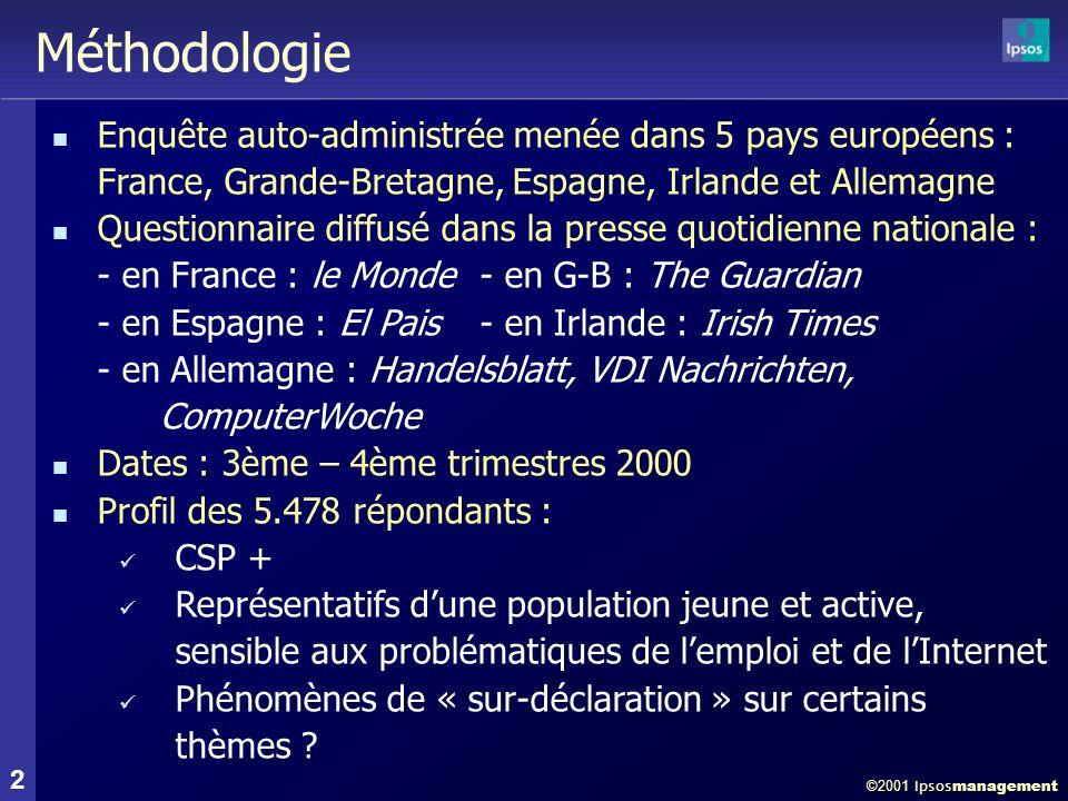 La Recherche dEmploi en Europe 3 juillet 2001
