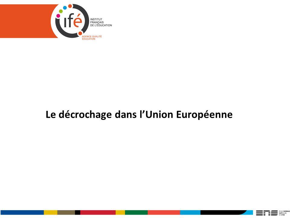 Le décrochage dans lUnion Européenne