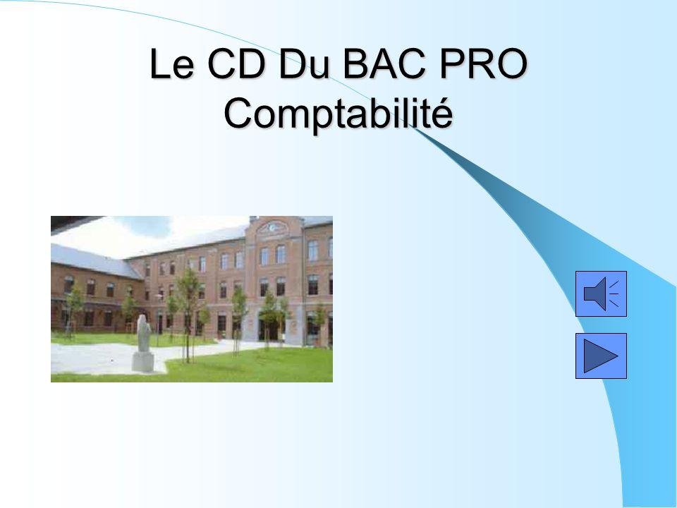 Le CD Du BAC PRO Comptabilité