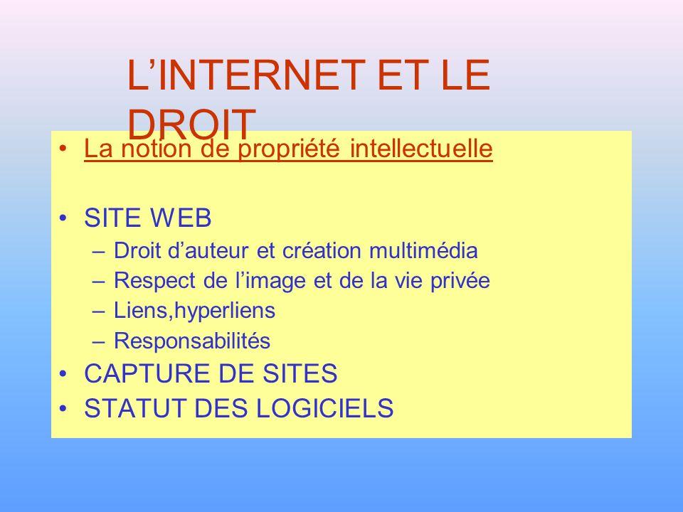 La notion de propriété intellectuelle Article L111-1 du Code de la propriété intellectuelle.