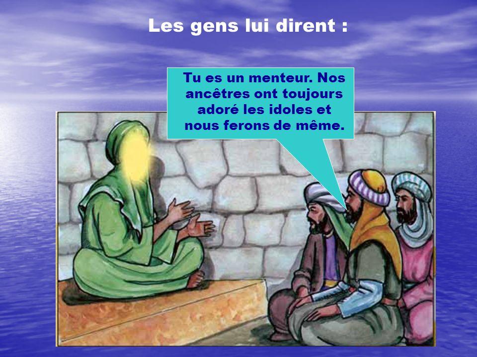Le Prophète Younouss (a) a persuadé les gens pendant longtemps de n adorer qu un seul Dieu.