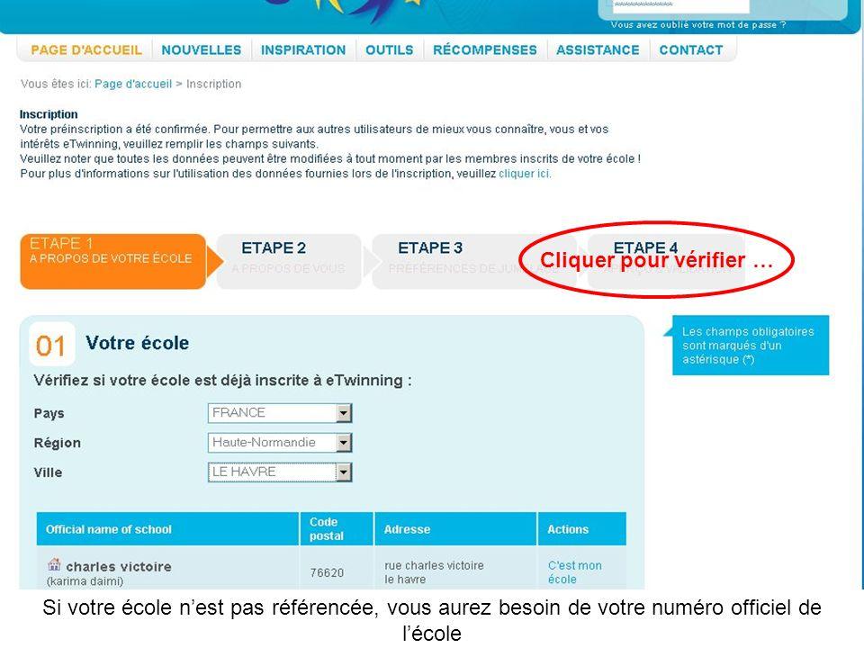Judicaël Griffe 7. Sinscrire et trouver des partenaires La procédure dinscription http://www.etwinning.net http://www.etwinning.fr Procédure accessibl