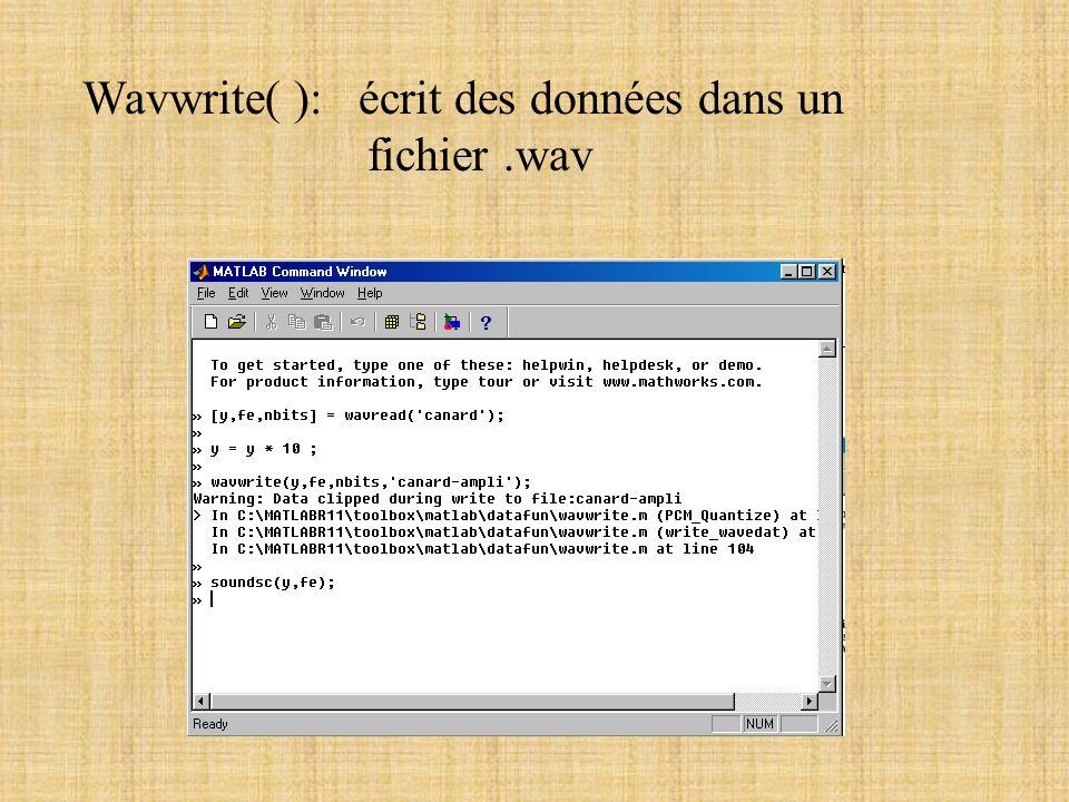 4 - Conclusion - Matlab permet de faire beaucoup deffets - Suite: simuler une boite deffets Conquest-of-paradise.wav