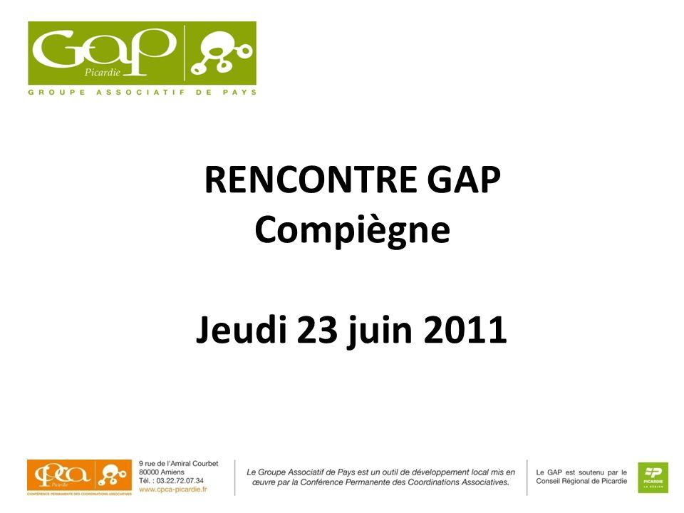 RENCONTRE GAP Compiègne Jeudi 23 juin 2011