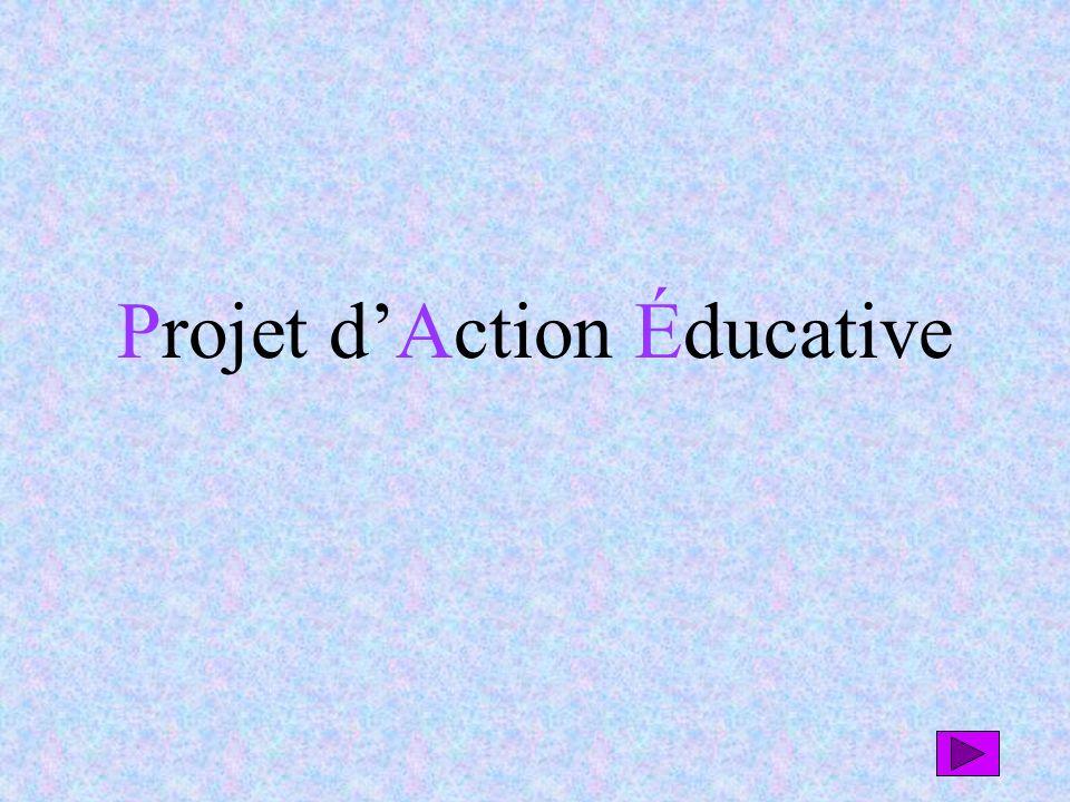 Projet dAction Éducative