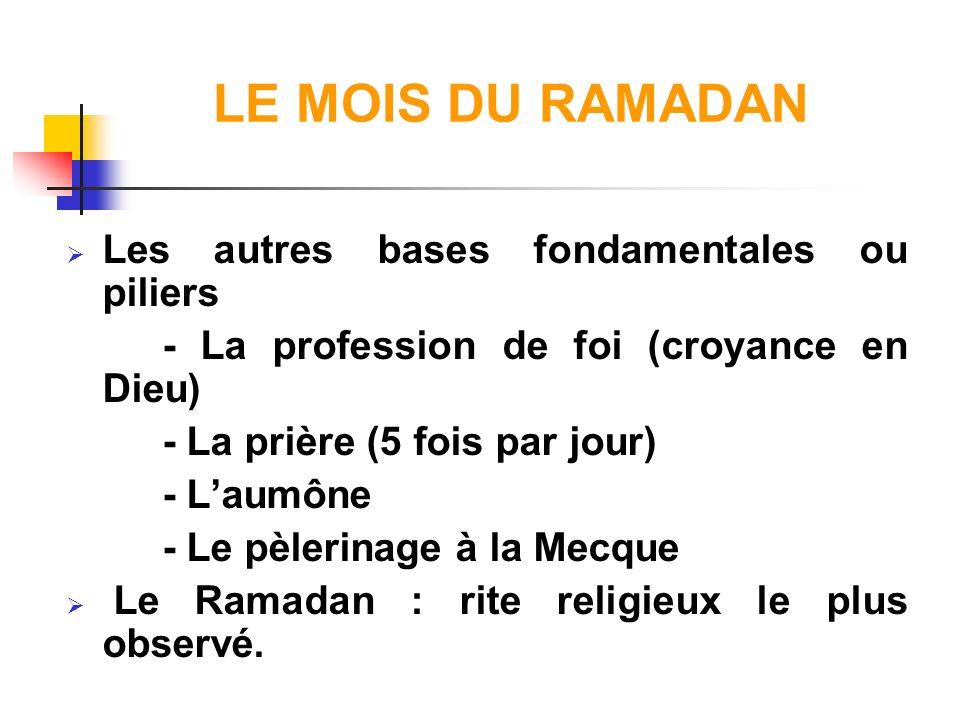 ASPECTS PHYSIOLOGIQUES DU JEUNE Le jeûne du Ramadan est : - Un jeûne court dont la durée peut varier suivant les saisons de 12 à 18 heures - Une épreuve pour les pratiquants : * asthénie, vertiges * somnolence.