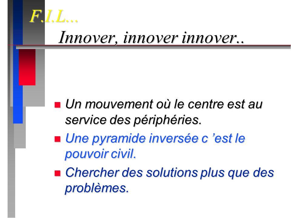 n Innover, innover innover..