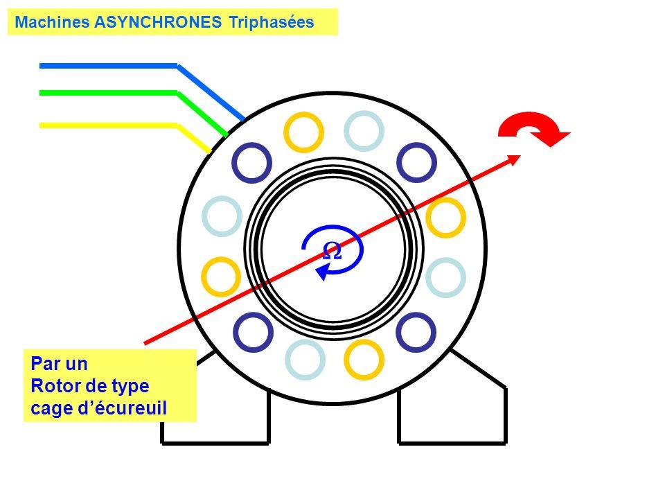 Machines ASYNCHRONES Triphasées Par un Rotor de type cage décureuil