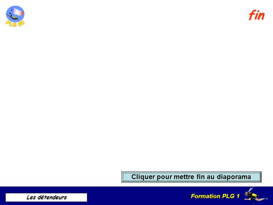 Formation PLG 1 Les détendeurs Norme NF EN 250 Révision du détendeur 1 fois par an avec attestation de révision La réglementation